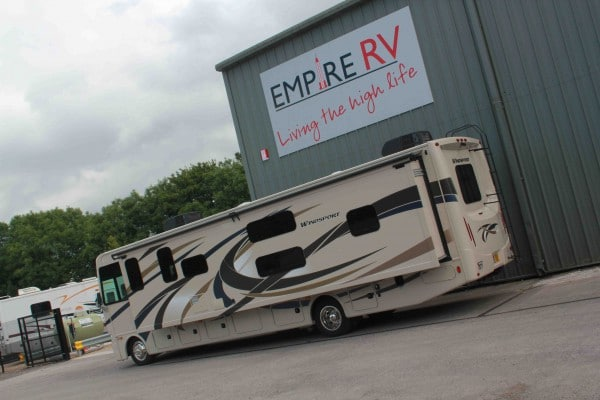 Motorhomes for rent Hire - Empire RV