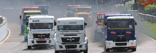 RV & Motorhome hire at the British Truck Racing Association Championship