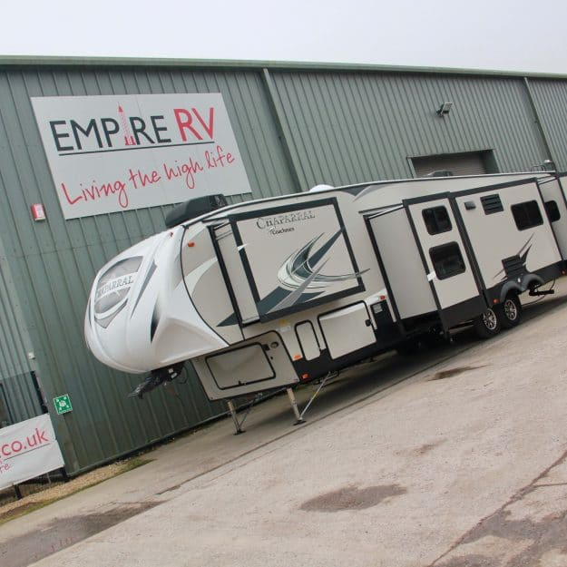 Coachmen Chaparral 373MBRB bunkhouse fifth wheel for sale