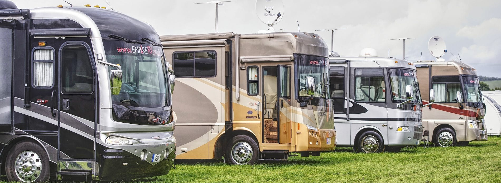 RV and American Motorhomes for sale and hire - (c) Empire RV