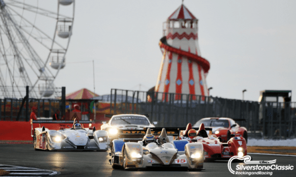 Endurance racing (c) Silverstone Classic RV Motorhome accommodation hire