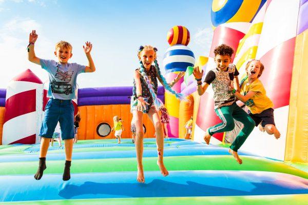 (c) Camp Bestival - Family Festival Lulworth Dorset - Camp Bestival Motorhome Hire