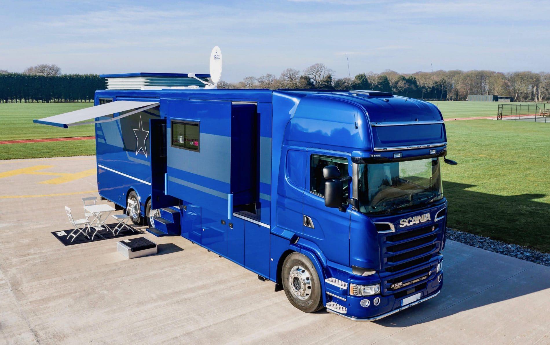 Scania V8 STX Luxury Motorhome for sale - American Motorhome